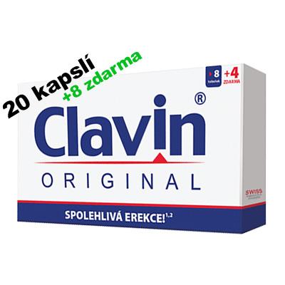 Clavin Original 20 kapslí, 8 zdarma