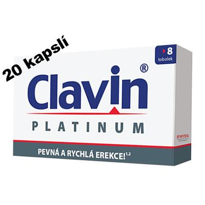 Clavin Platinum 20 kapslí