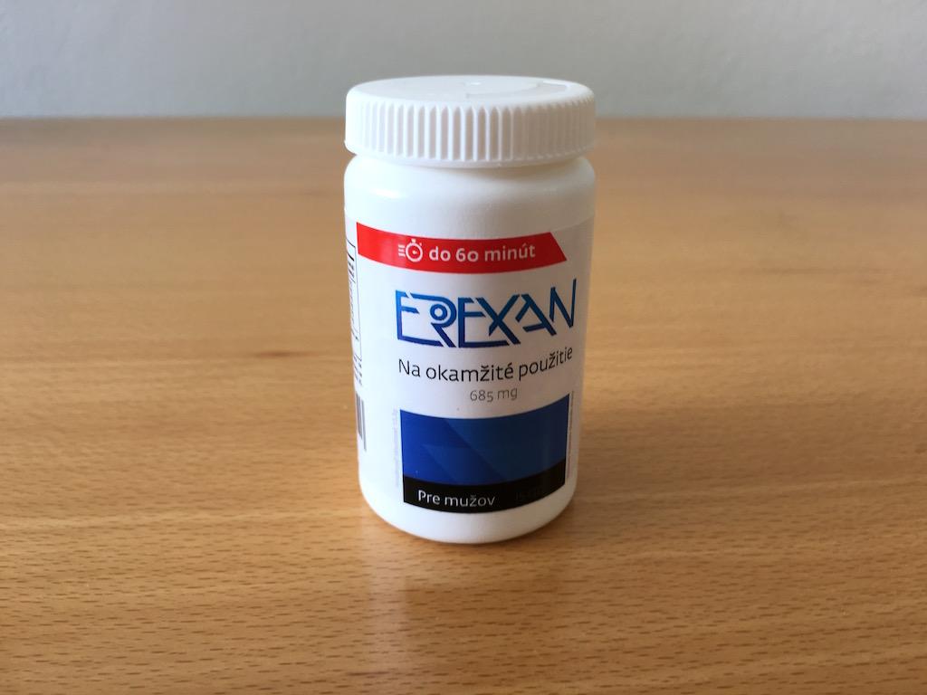 Erexan - balení