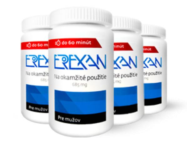 Erexan - balíček mega - 60 kapslí