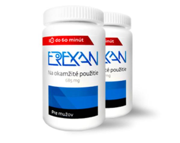 Erexan - balíček plus - 30 kapslí
