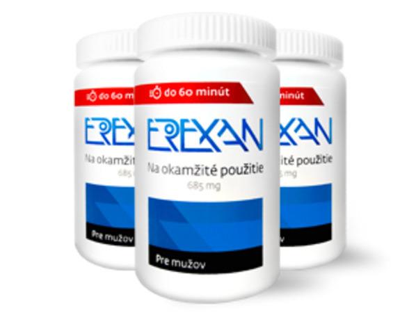 Erexan - balíček super - 45 kapslí