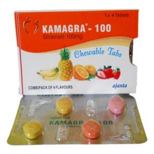 Kamagra Soft (žvýkací tablety)