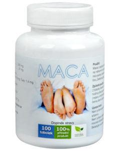 Maca extrakt - kapsle 100 tablet