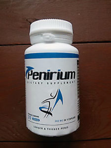 Penirium - balení z předu