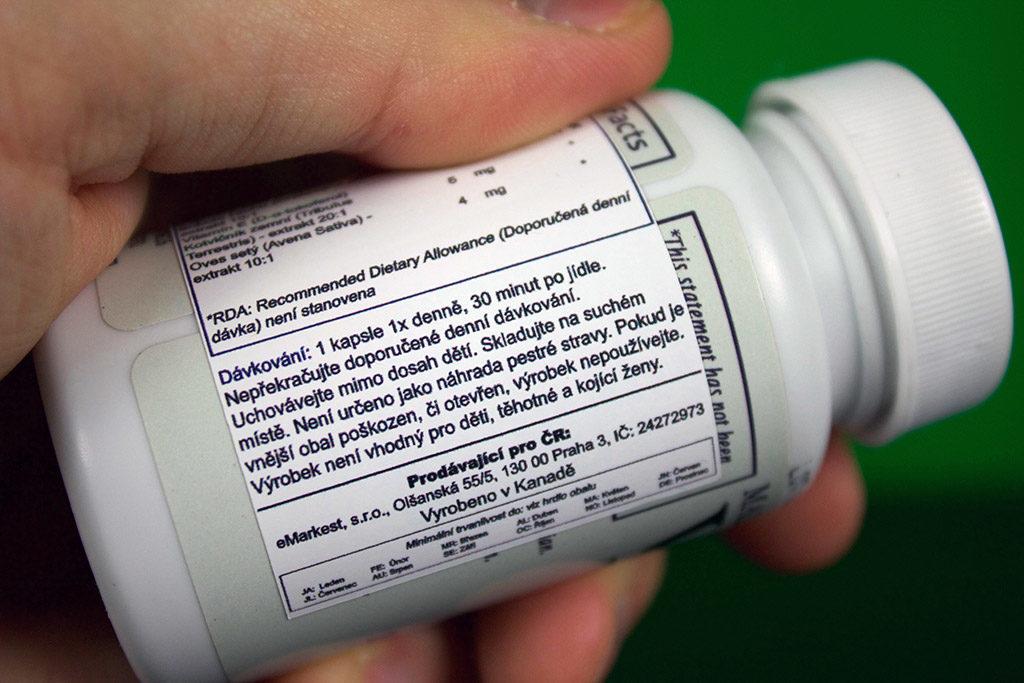 Dávkování tablet Vimax