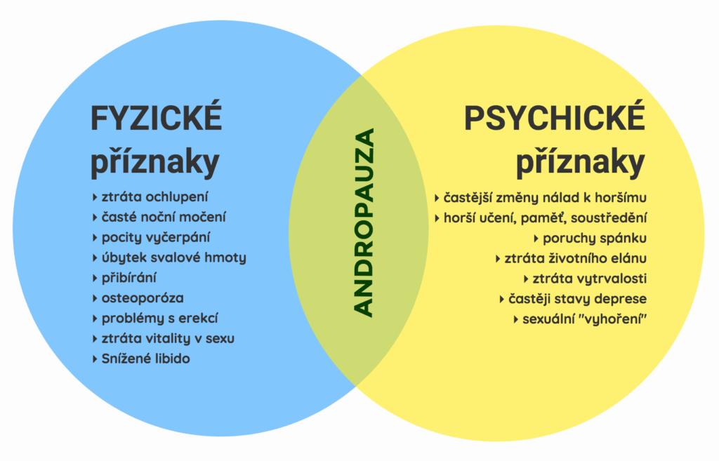 Příznaky a průběh andropauzy
