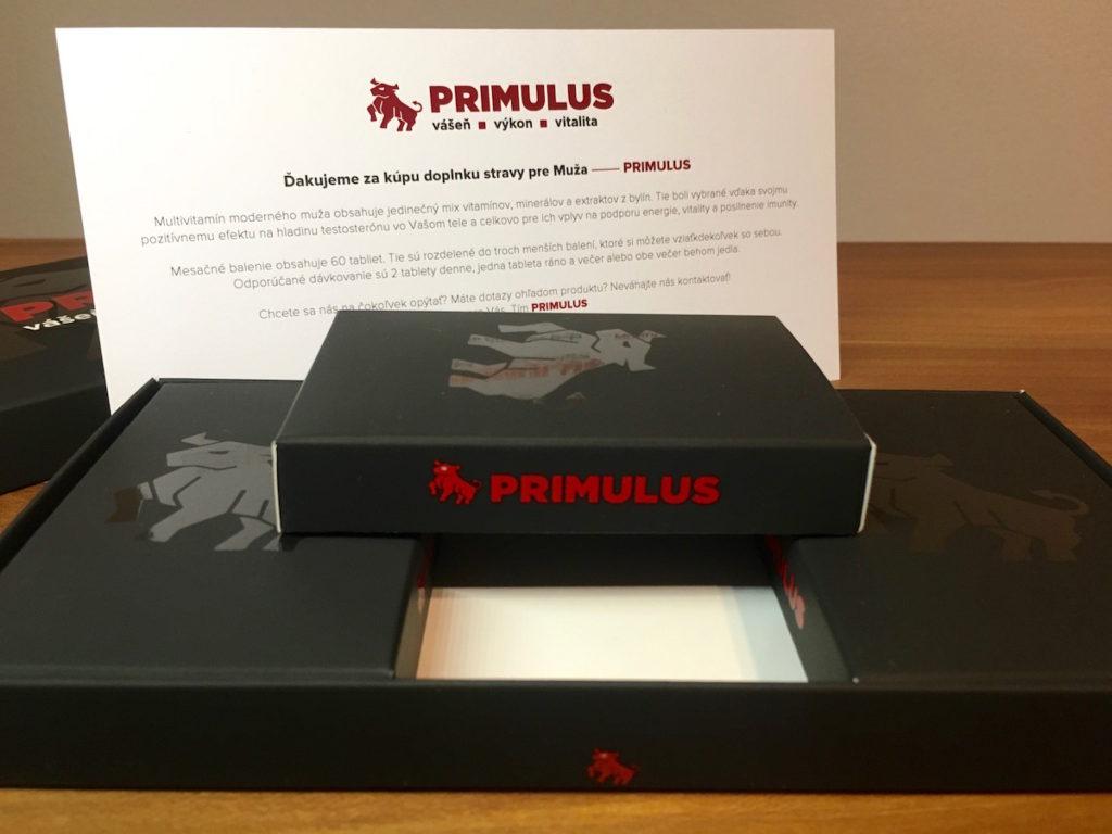 Primulus recenze - užívání a dávkování