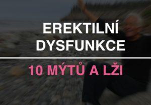 10 lží o erektilní dysfunkci