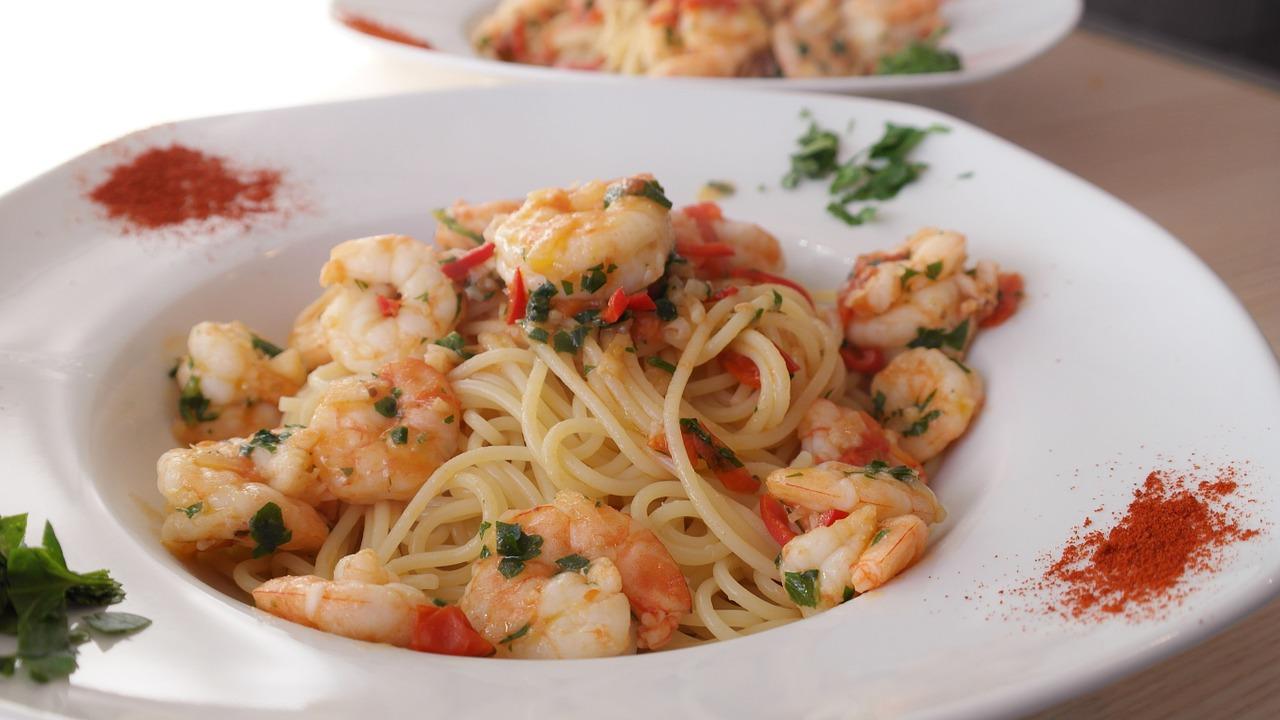 Spaghetti Čili