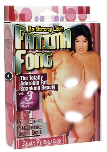 Nafukovací panna Fatima Fong recenze