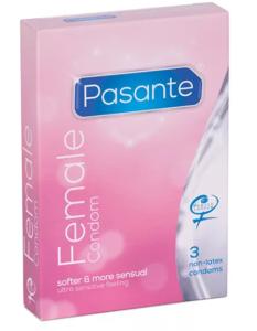 Pasante - dámský kondom