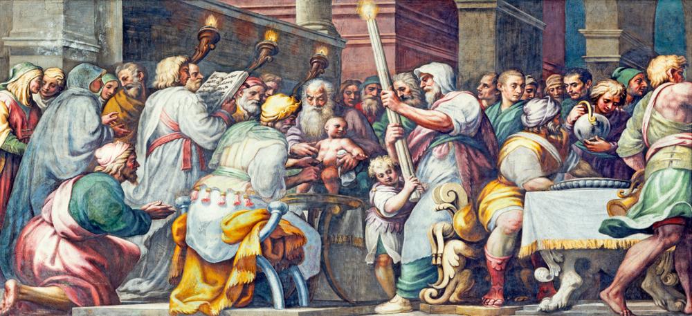 freska Obřezání ježíše