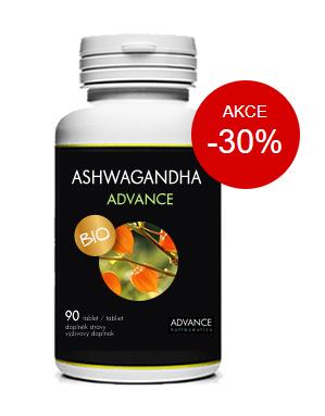 Ashwagandha Advance - recenze, akce