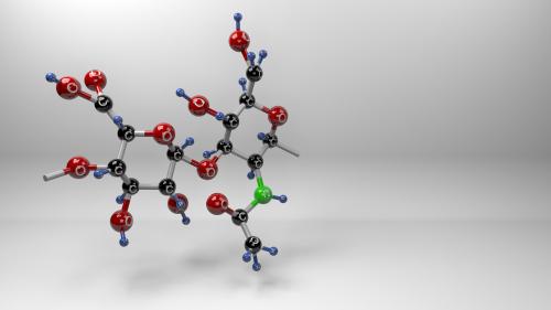 Molekula kyseliny hyaluronové