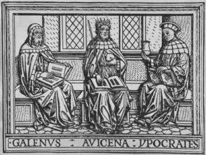 Galen, Avicenna, Hippokrates